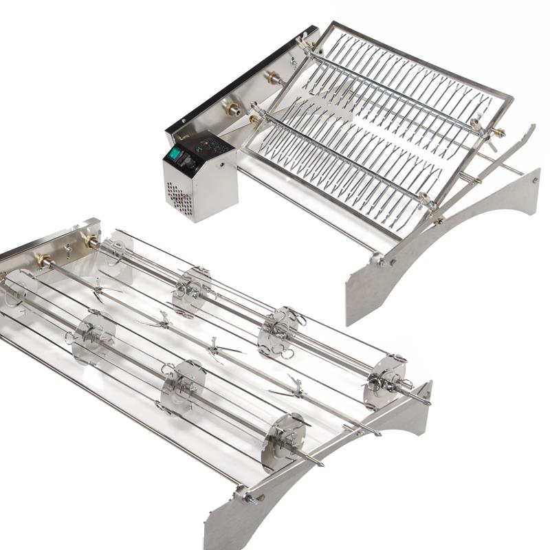 Griglia girevole elettrica e giraspiedini elettrico art for Braciere elettrico per camino